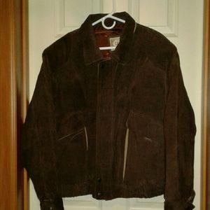 Large 90s Levjs leather jacket